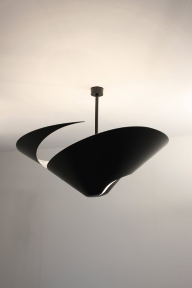 Serge Mouille - Serge Mouille Snail Ceiling Light Ø 85 cm