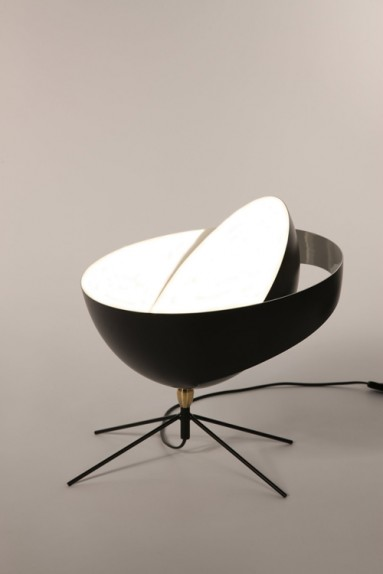 lampe poser saturne serge mouille i uber modern. Black Bedroom Furniture Sets. Home Design Ideas