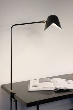 Serge Mouille - Serge Mouille simple Agrafée Lamp