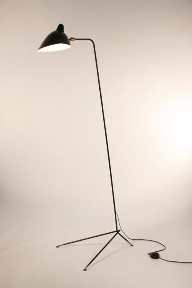 Serge Mouille - Serge Mouille straight Floor Lamp