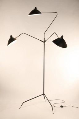 Serge Mouille - Serge Mouille 3-arm Floor Lamp