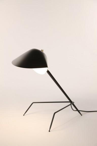 Serge Mouille - Serge Mouille Tripod Desk Lamp